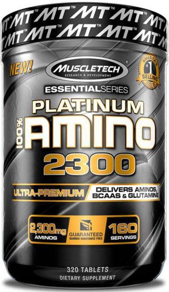MuscleTech Platinum 100% Amino 2300 - 320 таблетки